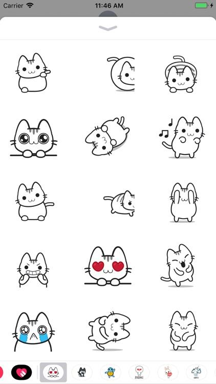 Emotional Cat Animated