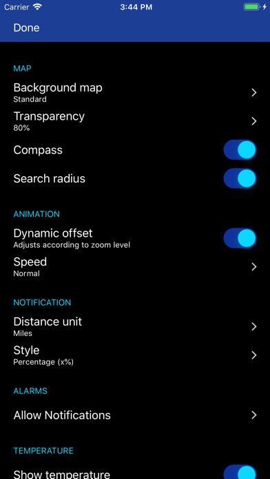 Rain Alarm Pro review screenshots