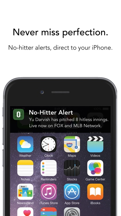 No-Hitter Alerts screenshot-0
