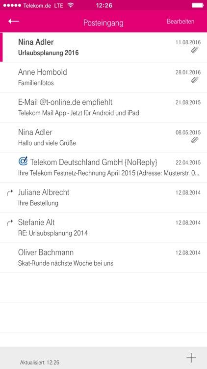 Telekom Mail screenshot-3