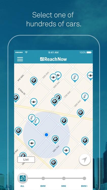 ReachNow Car Sharing by BMW