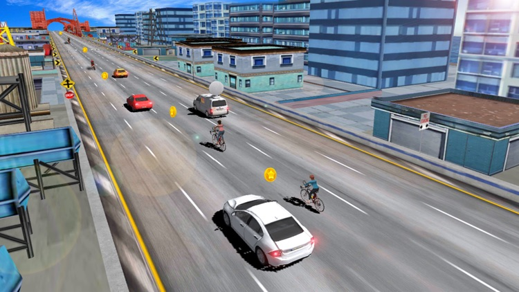 In Bicycle Racing on Highway screenshot-4