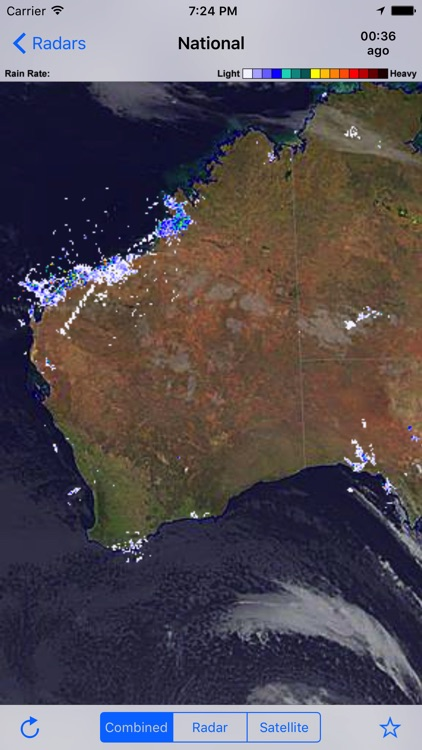 Rain Radar Australia screenshot-2