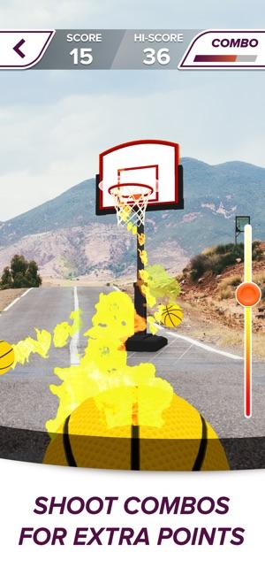 AR Sports Basketball Screenshot