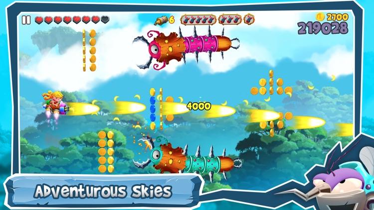 SkyLand Rush - Air Raid Attack screenshot-0