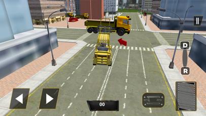 Real City Road River Bridge Construction Game screenshot two