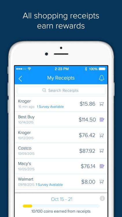 Receipt Hog - Get paid to shop screenshot-3