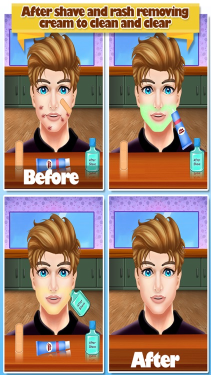 Celebrity Shave Salon screenshot-3