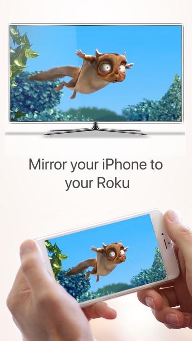 Mirror for Roku - AirBeamTV screenshot 1