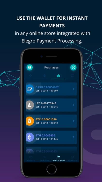 Elegro Personal Crypto Wallet