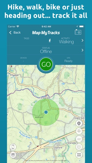 Map My Tracks Walking Pro On The App Store - Map my bike