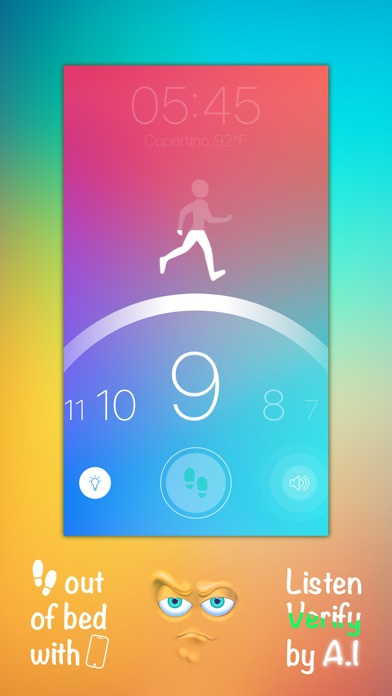 Step Out! Smart Alarm Clock Screenshots
