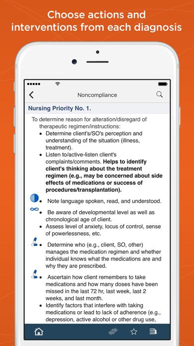 Nurse's Pocket Guide-Diagnosis Screenshot