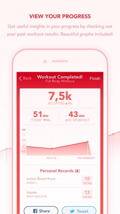 Ignite - Workout Tracker screenshot-4