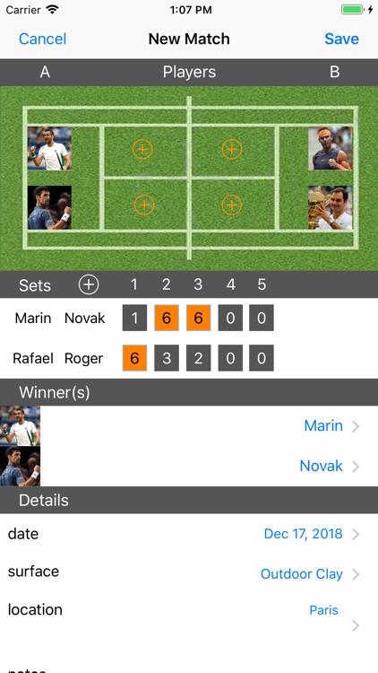 Tennis Player screenshot-5