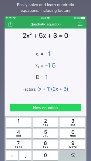Quadratic Master on the App Store