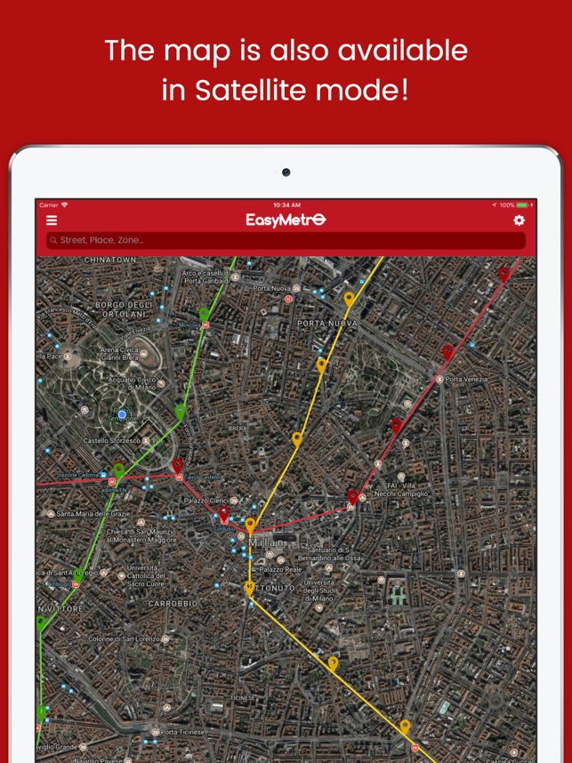 EasyMetro ATM Milan on the App Store