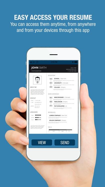Free Resume Builder - CV Maker screenshot-4