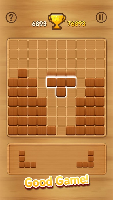 Wooden Block Puzzle - Extreme screenshot one