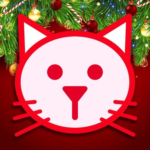 菲菲猫圣诞涂鸦