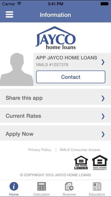 JAYCO Mortgage Calculator