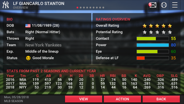‎MLB Manager 2018 Screenshot