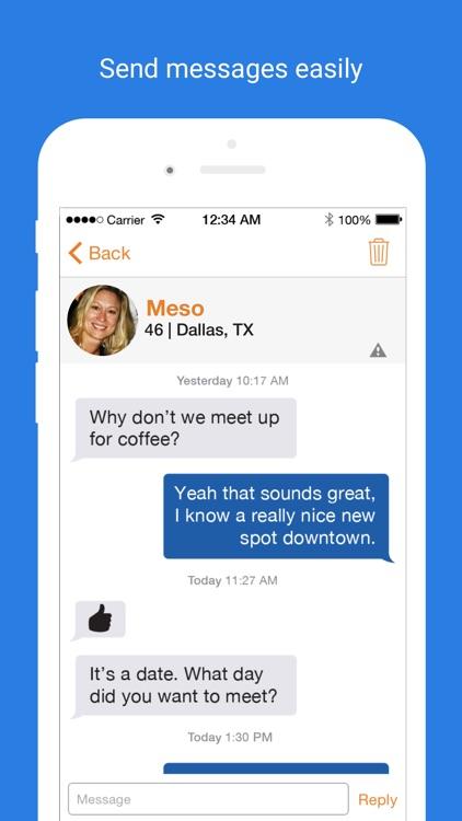 Seniors Meet Dating screenshot-3