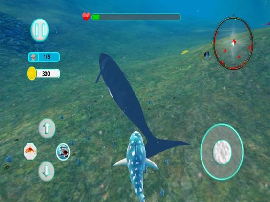 Игра Акула Атака эволюция 3D профес