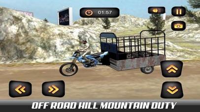 Hill Chingchi Rickshaw 3D screenshot 1