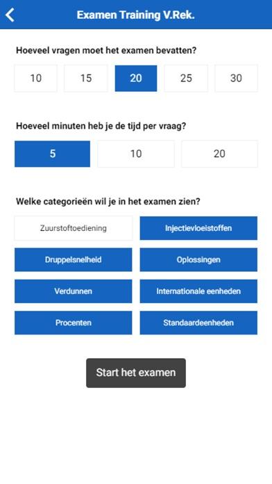 Toets Verpleegkundig Rekenen screenshot 2