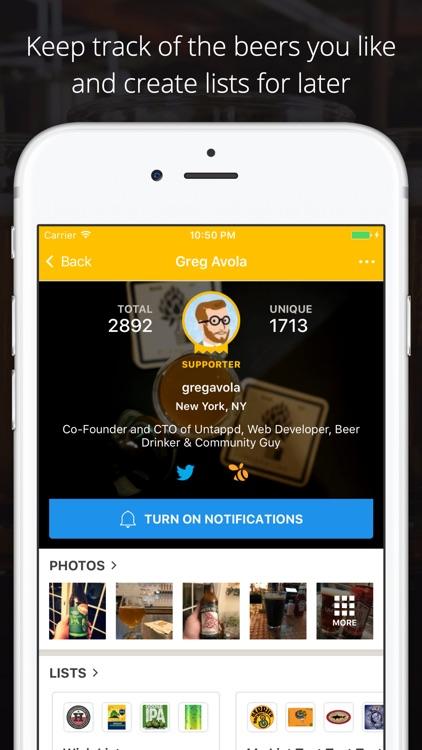Untappd - Discover Beer screenshot-3