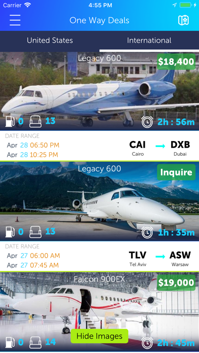 Takeoff360 - Book Private Jets screenshot two