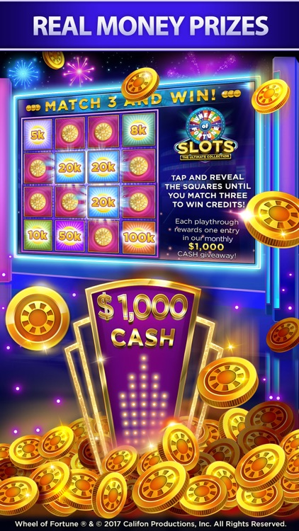 Wheel of Fortune Slots screenshot-4