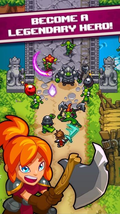 Dash Quest Heroes screenshot #1