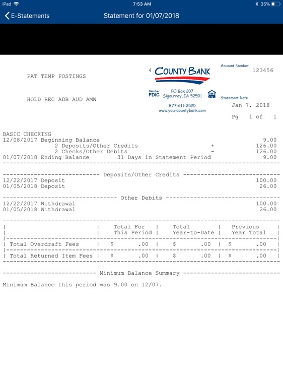 County Bank for iPad screenshot-6