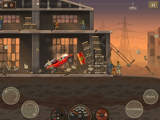 Screenshot #2 for Earn to Die 2 Lite