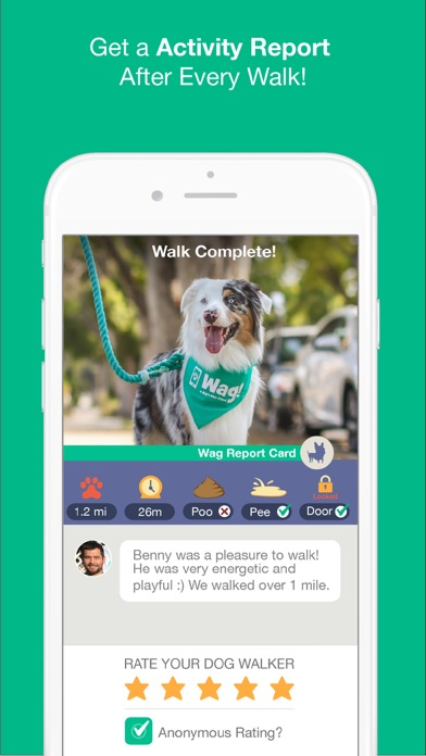 Wag! - Instant Dog Walkers Скриншоты10