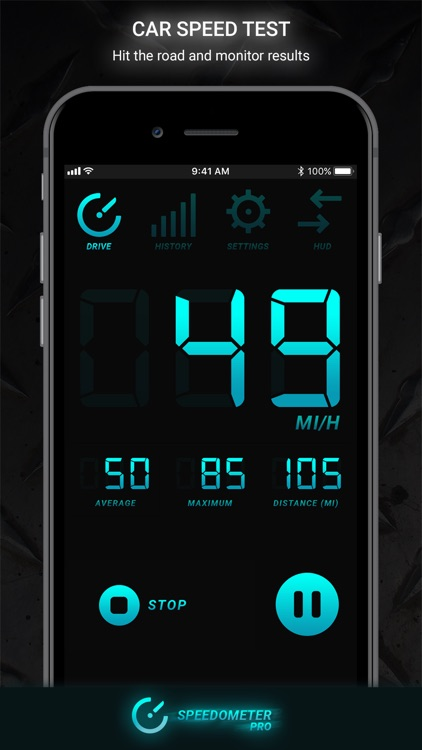 Speedometer PRO HUD screenshot-0