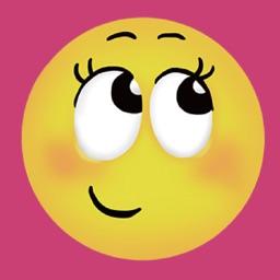 Girls Funny Emoji Stickers !