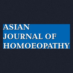 Asian Journal Of Homoeopathy