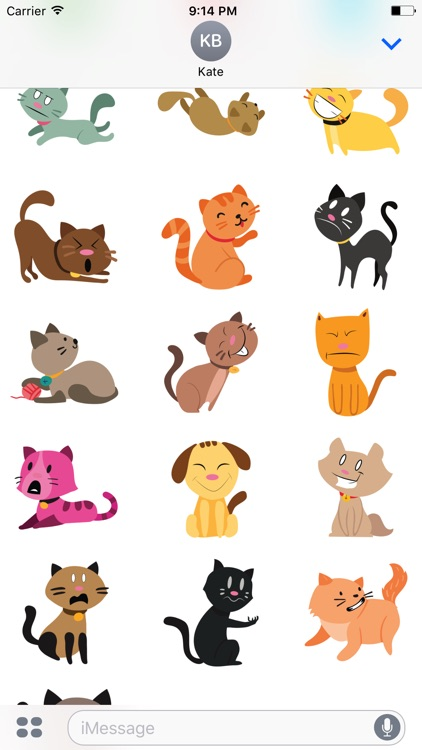 lovely Cats Sticker