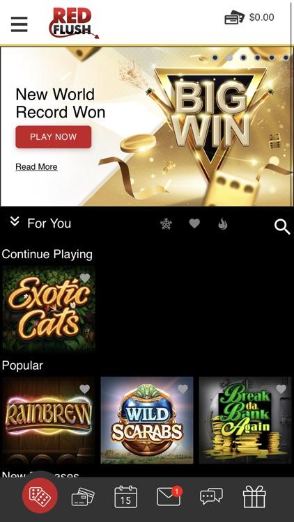 Red Flush Online Casino screenshot-5