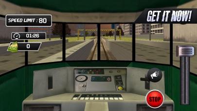 Driving Train Sim Screenshot on iOS