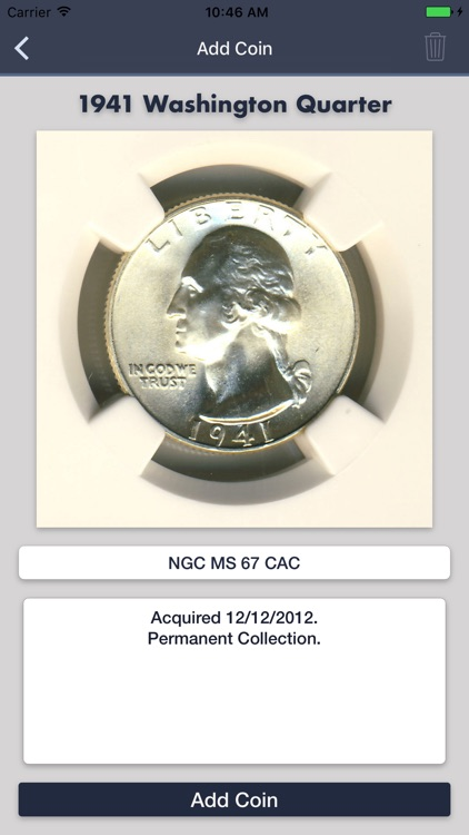 Washington Quarters- Coin Guide Collection Tracker screenshot-4