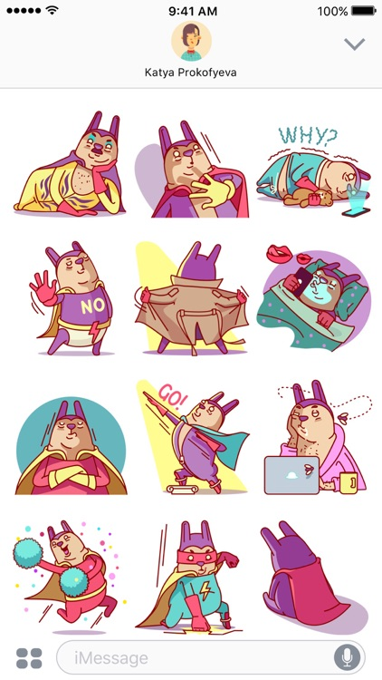 Robert the Rabbit – Stickers & Emoji