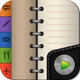 Groovy Notes - Organizer Diary