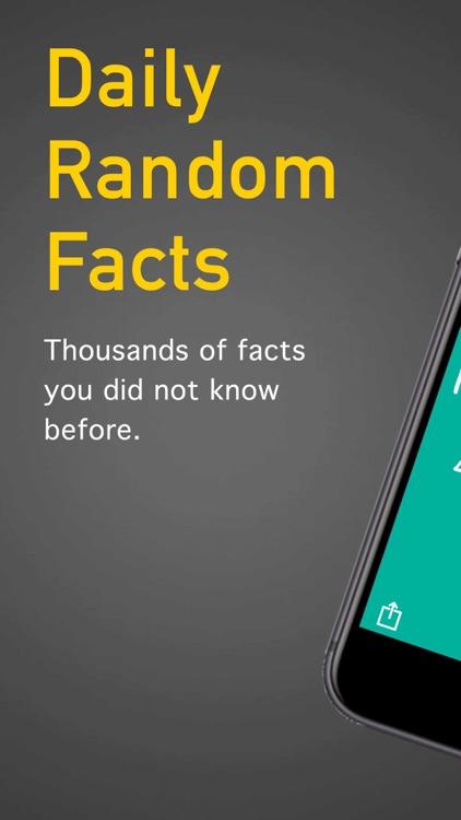 Daily Random Facts screenshot-3