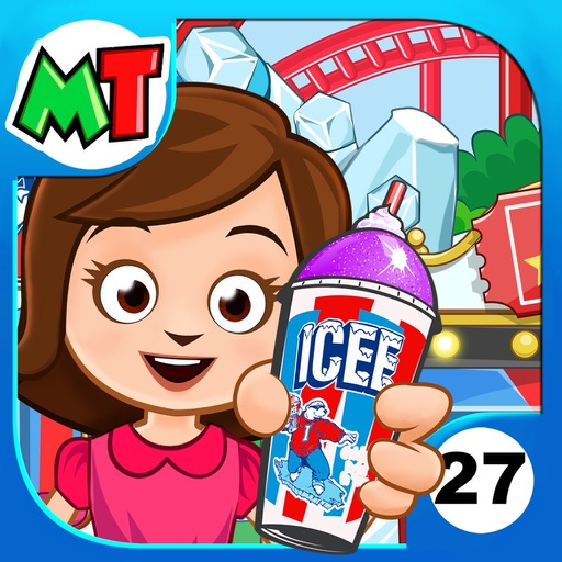 My Town : ICEE™ Amusement Park... app for ipad