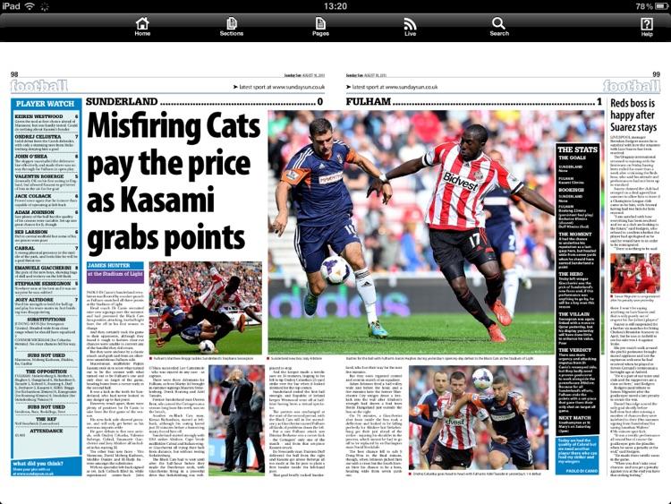 Sunday Sun Newspaper screenshot-3