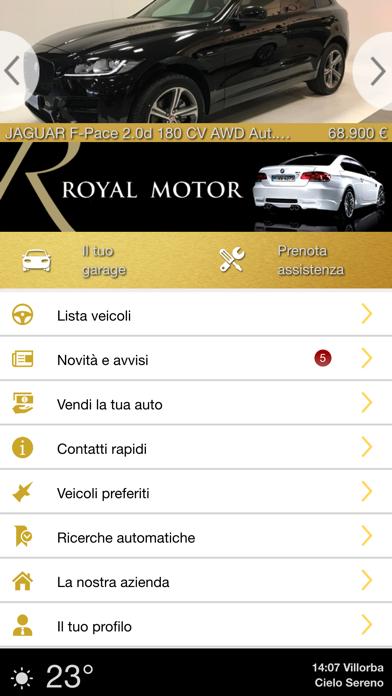 Screenshot of Royal Motor1